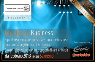 Musica in Business a Sanremo 2013